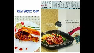 TREO La Culinaire GRILL PAN - Unboxing &amp Demo