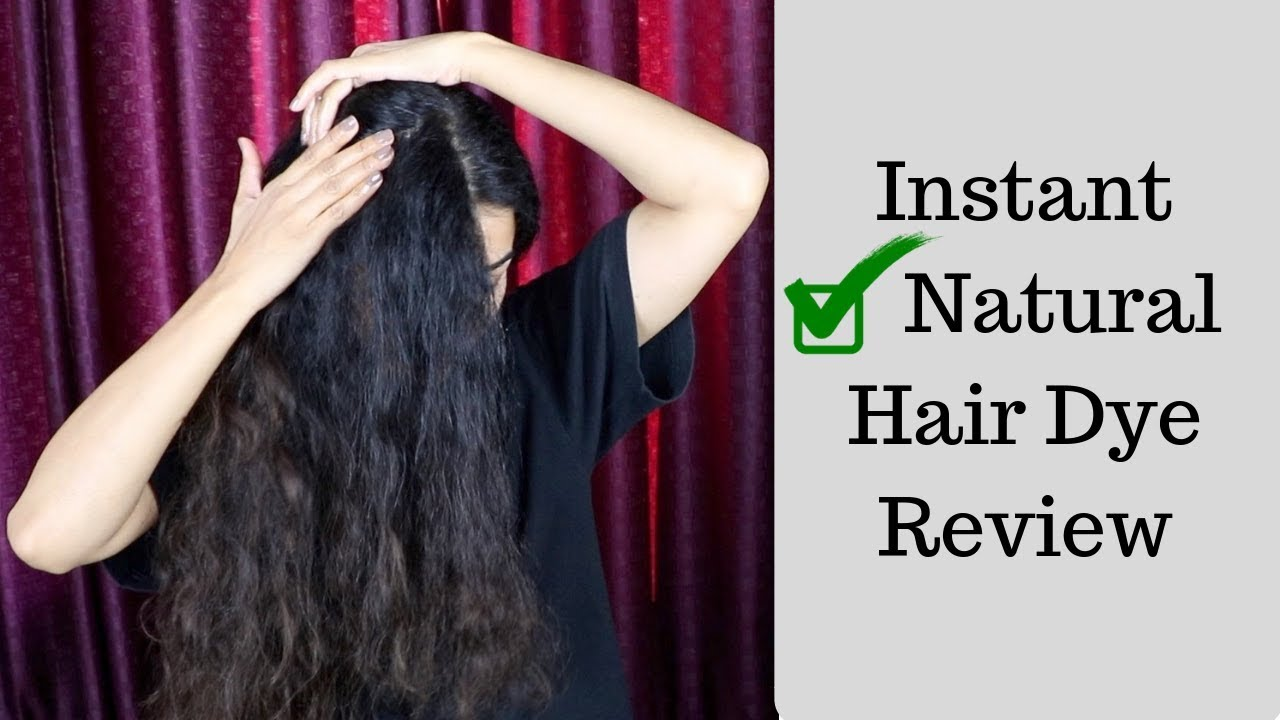 5bfd3e6387ce4 Natural Hair Dye to Cover Grey Hair | Instant Natural Hair Dye - YouTube