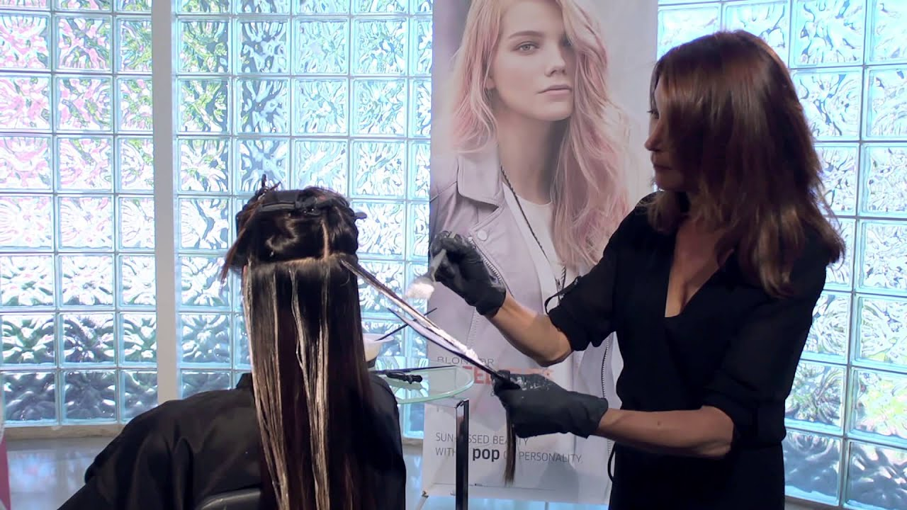 How To Balayage Caramel Infused Brunette Youtube