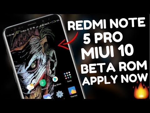 MIUI 10 Global BETA ROM for Redmi Note 5 PRO - Apply NOW 🔥