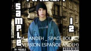 ANDEH MC - SPACE BOUND (COVER EN ESPAÑOL) 2012
