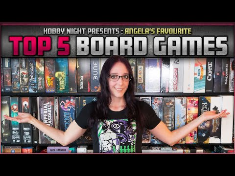 Top 5 Board Games | Good for 2 Players and Starting a Collection | Hobby Night's Favorites