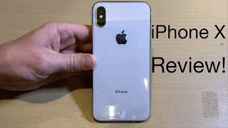 iPhone X Full In-Depth Review--64GB Silver