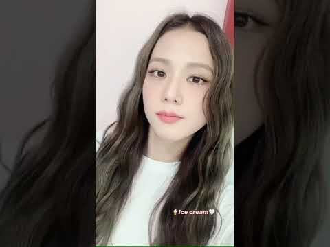 Blackpink Jisoo Ice Cream Instagram Story July 20 2020 Youtube