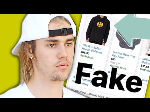 Justin Bieber Reacts To Fake Drew House Merch