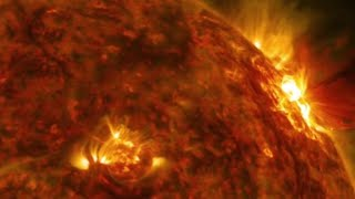 Object as big as Earth hits the SUN!!!