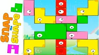 Snap The Shape - Free Online Puzzle Game for Kids.
