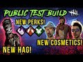 [PTB] NEW HAG, PERKS & COSMETICS! [#191] Dead by Daylight with HybridPanda