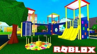 I MADE A PLAYGROUND | Bloxburg Build | Roblox