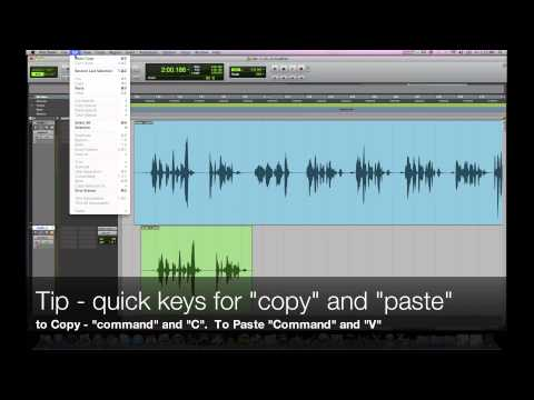 Pro Tools Tutorial for Voice-Overs