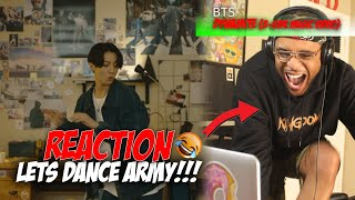 BTS 'Dynamite' Official MV (B-side)    Reaction (DANCE ARMY!)