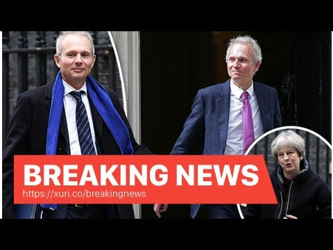 Breaking News - Cabinet reshuffle: David Lidington replaced Damian Green Cabinet Office Minister