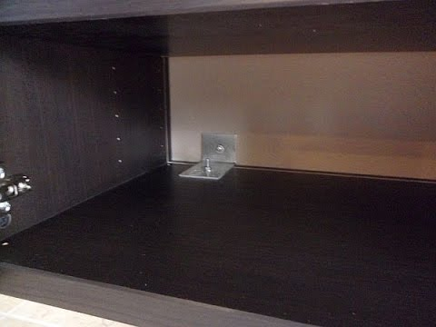 floating media cabinet diy