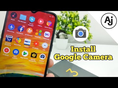 How to Install Google Camera in Realme 3 (GCam Download Link