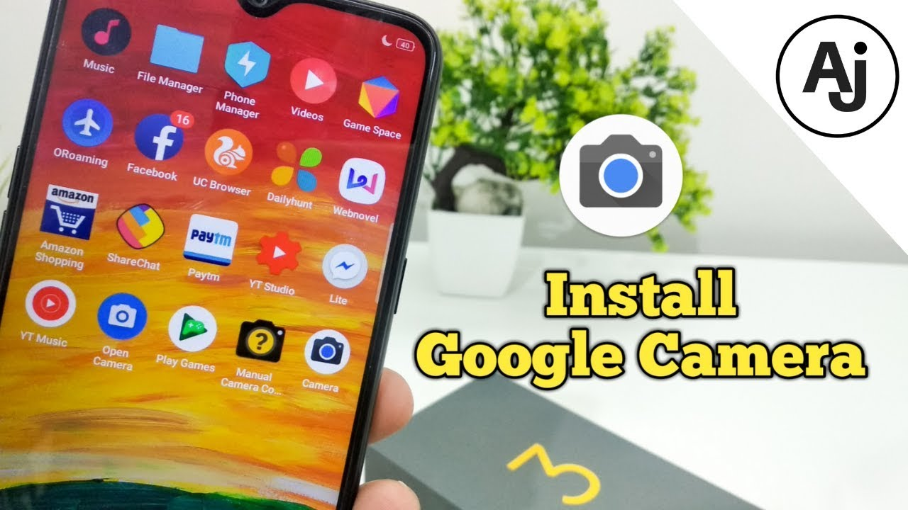 How to Install Google Camera in Realme 3 | GCam on Realme 3