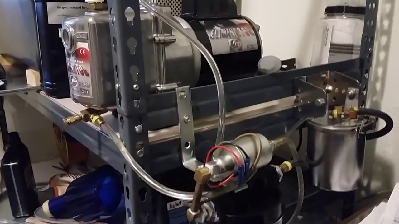 Harvest Right Freeze Dryer External Oil Filter Youtube