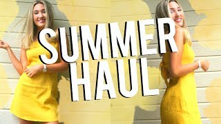 HUGE SUMMER TRY ON CLOTHING HAUL 2017! Michelle Reed