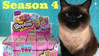 Shopkins Season 4 2 Pack Blind Basket Pack Opening Toy Review Petkins | PSToyReviews