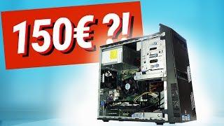 150€ GAMING PC Monster - das JEDER bauen kann!! TEST & Zusammenbauen