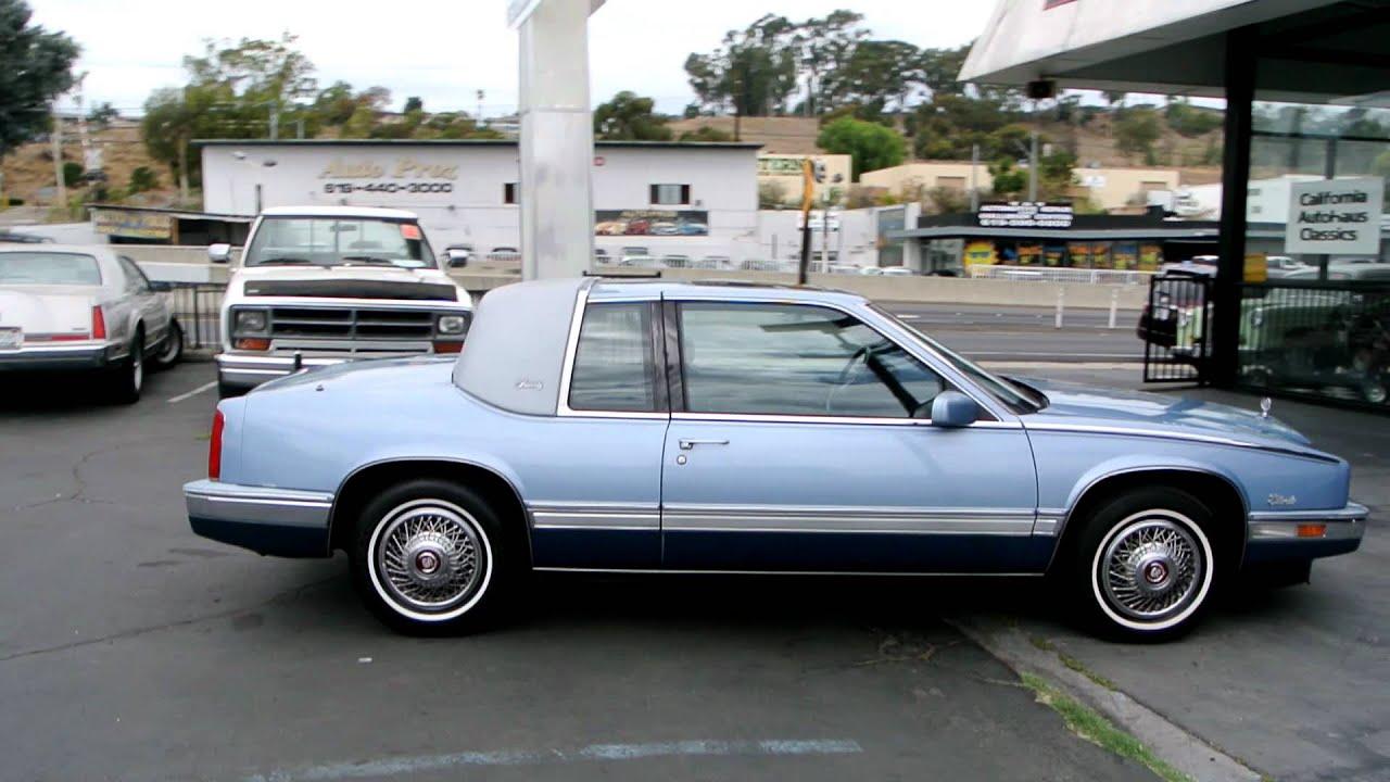 1988 Cadillac Eldorado Biarritz 1 Owner Low Mile Clean 2 door Coupe