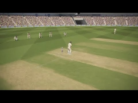 Ashes Cricket -  4th Test, day 1 morning session