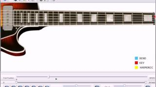 Led Zeppelin Over The Hills And Far Away Guitar Lesson Software