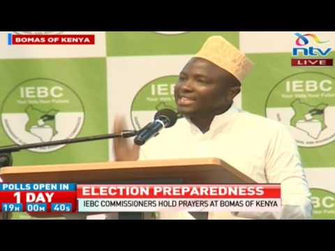 Justice first then peace; IEBC challenged to deliver credible elections for peace to prevail