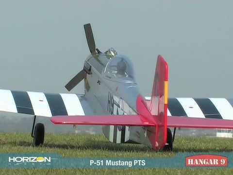 Hangar 9 P51 Mustang Pts Youtube