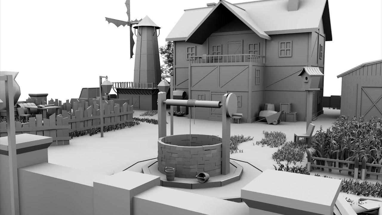 3D Environment Modeling Showreel