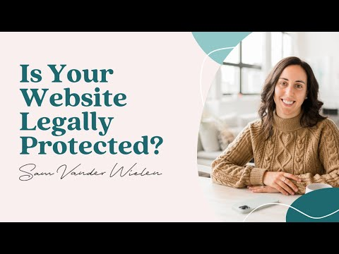 WEBSITE POLICIES (what You Need To Legally Protect Your Website)