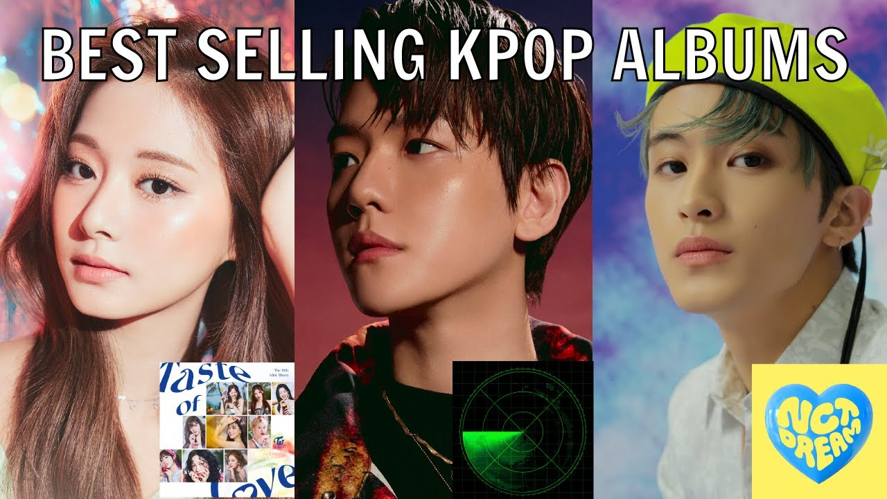 BEST SELLING KPOP ALBUMS IN JUNE 2021   Gaon Chart