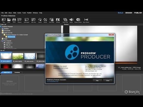 [TUT] Proshow Producer 8.0 Full Crack - Hướng dẫn cài đặt