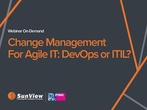 Change Management For Agile IT: DevOps Or ITIL?