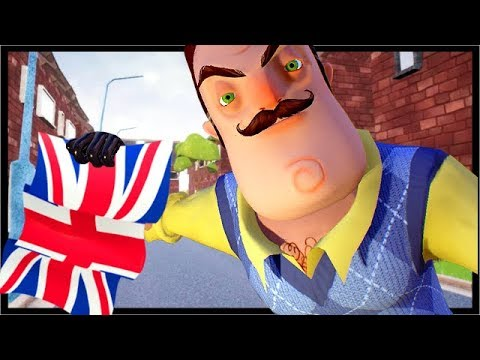 THE NEIGHBOR MOVES TO ENGLAND!! | Hello Neighbor Mod Kit (Hello Neighbor Beta 3 Mods)