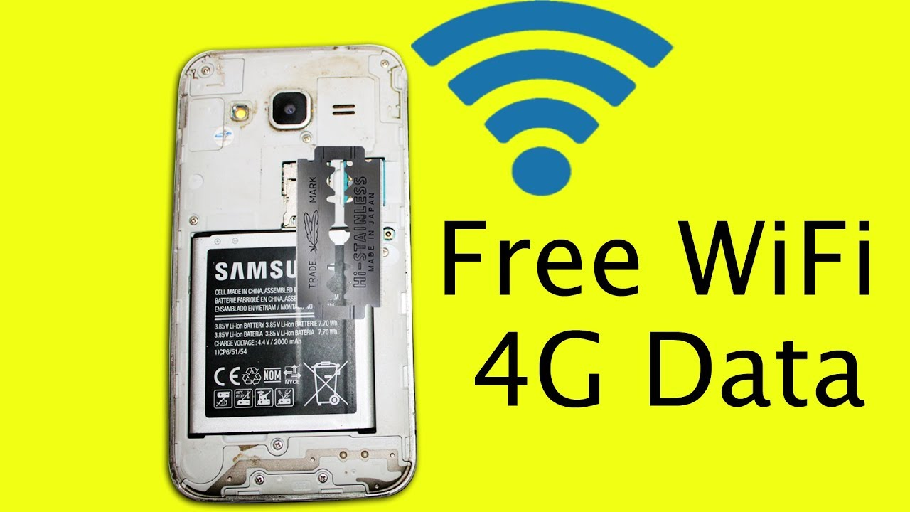 Möbel Internet Get Free 4g Internet Data Wifi Without Sim Card On Mobile Device Using Steel Blade