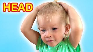 Head Shoulders Knees & Toes + More - Exercise Song for Children | S...