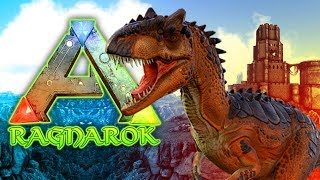 Allosaurus Battle - ARK: RAGNAROK SURVIVAL (DLC)
