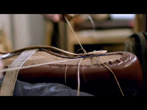 How Bespoke Italian Leather Shoes Are Made
