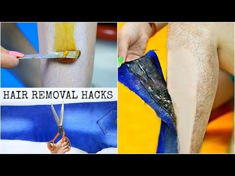 Instant HAIR REMOVAL Hacks - No Wax No Strips  DIY Homemade Sugar Wax  Anaysa