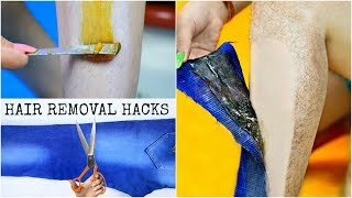 Instant HAIR REMOVAL Hacks - No Wax, No Strips | DIY Homemade Sugar Wax | Anaysa
