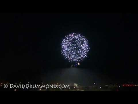 2013 Independence Day 4th of July Fireworks Show in Lubbock, Texas