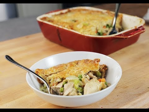 Andrew Zimmern Cooks: Chicken Pot Pie