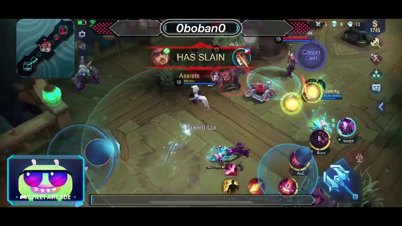 Watch me play Mobile Legends: Bang Bang via Omlet Arcade!
