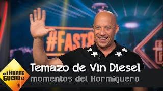 En exclusiva el tema que ha grabado Vin Diesel con Nicky Jam - El Hormiguero 3.0