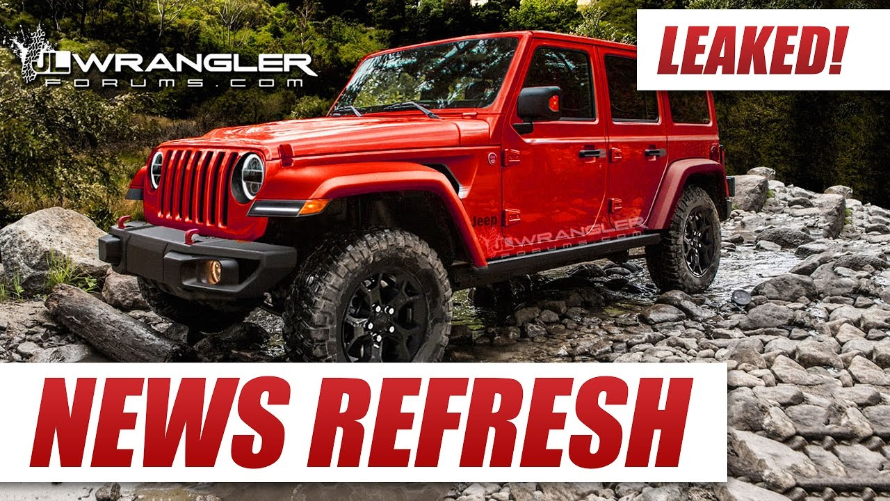 2018 jeep wrangler images. perfect 2018 leaked 2018 jeep wrangler jl to jeep wrangler images