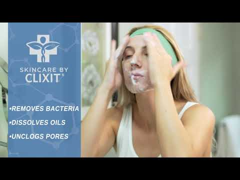 Clixit Foaming Face Wash: Product Promo Video