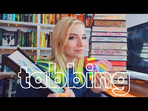 how i tab my books & tabbed collection 📚