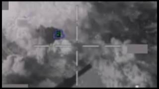 March 08 2016: Coalition airstrike on Daesh fighting position near Mara, Syria (2)