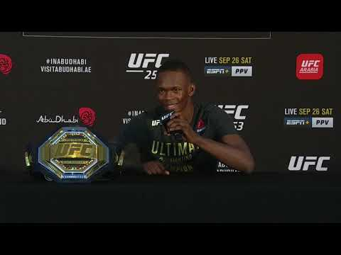 UFC 253: Israel Adesanya Post-fight Press Conference