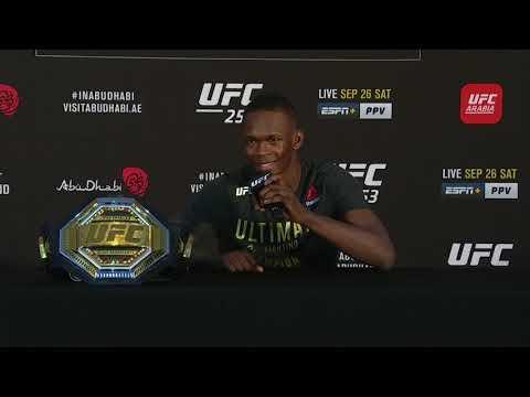UFC 253: Israel Adesanya Post-fight Press Conference